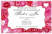 Product Image For Valentine Craze Invitation