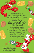 Product Image For Spicy Crawfish Digital Invitation