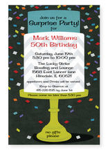 Product Image For Confetti Cake Invitation