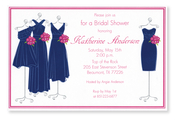 Product Image For Navy Maids Invitation