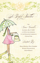 Product Image For Under My Umbrella Invitation