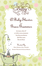 Product Image For Baby Bath invitation