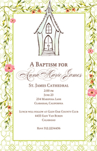 Product Image For Chapel Invitation