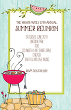 Product Image For Summer BBQ invitation