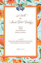 Product Image For Butterfly Beauty Invitation