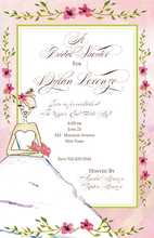 Product Image For Wedding day in Pink Invitation
