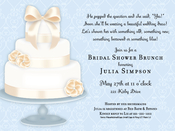 Product Image For Fancy Wedding Cake Invitation