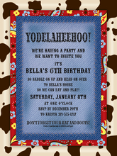 Product Image For Yodelaheehoo Invitation