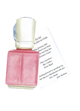 Product Image For Pink Nail Polish Die Cut Invitation