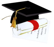 Product Image For Grad Cap Die Cut Invitation