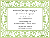 Product Image For Ornate Beauty Invitation
