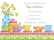 Product Image For Tea for Five Invitation