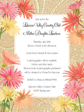 Product Image For Daisies Elegance Invitation
