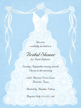Product Image For Lace Dress Invitation