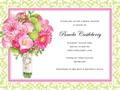 Product Image For Bridal Bouquet Invitation