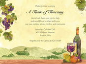 Product Image For Wine Hills Invitation