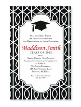 Product Image For Trellis Grad Invitation