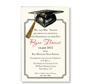 Product Image For Mortar Board Invitation