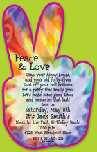 Product Image For Peace Digital Invitation