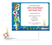 Product Image For Festive Sailing Invitation