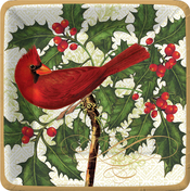 Product Image For Seasonal Bird and Berries Dinner Plate
