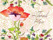 Product Image For Watercolor Flower Note Card