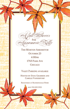 Product Image For Autumn Beauty Invitation