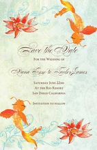 Product Image For Golden Wishes Invitation