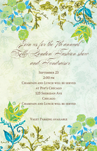 Product Image For Whimsical Garden Invitation