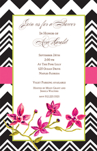Product Image For Sophisticated Chevron Invitation