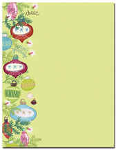 Product Image For Whimsy Ornaments Letterhead