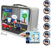 Product Image For Policeman Lunchbox