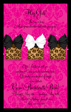 Product Image For Pretty Leopard Presents Digital Invitation