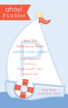 Product Image For Sailboat Digital Invitation