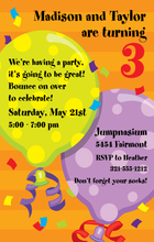 Product Image For Big Balloons Digital Invitation