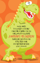 Product Image For Dino-Roar Digital Invitation