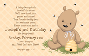Product Image For Teddy Bear Taupe Digital Invitation