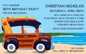 Product Image For Surfin' Digital Invitation