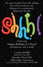 Product Image For Shhh! Digital Invitation