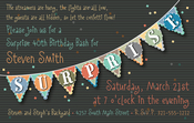 Product Image For Surprise Banner Digital Invitation