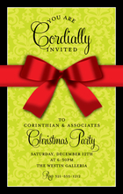 Product Image For Red Bow Digital Invitation