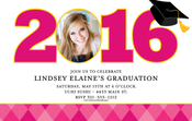 Product Image For Fun Argyle Grad Pink Digital Photocard