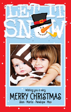 Product Image For Let It Snow! Digital Photocard