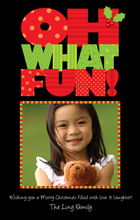 Product Image For Oh What Fun! Digital Photocard