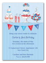 Product Image For At the Sweet Shop Invitation