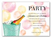 Product Image For Bubbles & Bubbly Invitation
