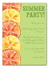 Product Image For Juicy Citrus Invitation