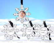 Product Image For SNowflake Place Holder / Ornament -Set of 4