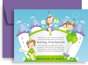 Product Image For Baileys bounce Castle Invitation