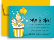 Product Image For Connor's Cupcake Invitation